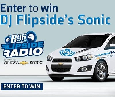 Sonic Sweepstakes - chicagoland and northwest indiana chevy dealers sweepstakesbible