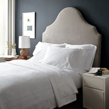 scroll headboard west elm eclectic headboards by