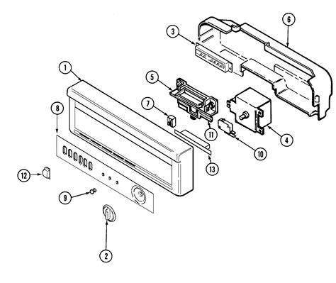 jenn air parts diagram jenn air dishwasher parts model dw861uqp sears partsdirect