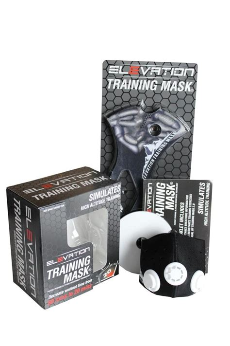 Elevation Mask Masker Latihan Size M elevation mask 2 0 bane sleeve mma fitness sizes s or m ebay