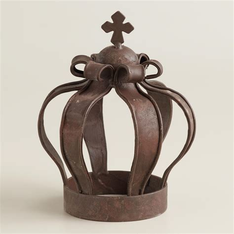 crown decor king iron crown decor world market
