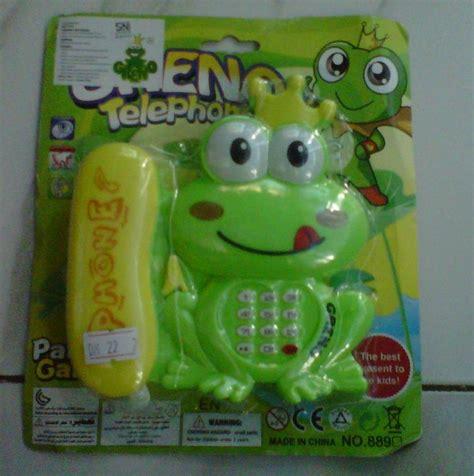 Mainan Anak Mainan Telepon Hello Kity jual mainan telepon rumah karakter keropy juragan mainan