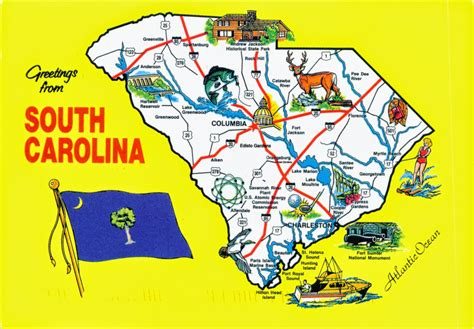 south carolina map world come to my home 1371 united states south