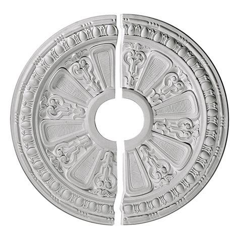 two ceiling medallions ekena millwork cm17ra2 17 5 8 inch od x 3 5 8 inch id x 7
