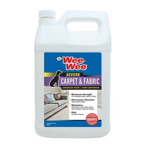 Wee On Rug by Wee Wee Carpet Fabric Cleaner Severe Stain Odor Remover Petco