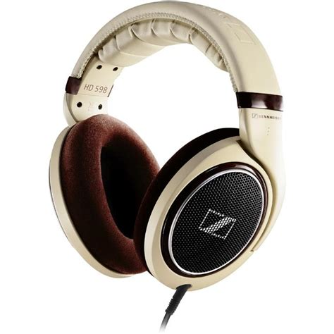 amazon headphones amazon com sennheiser hd 598 over ear headphones ivory