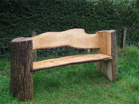 log bench designs diy chainsaw mill plans google search aquarium ideas