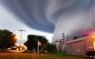 Huge tornado funnel cloud touches down in orchard iowa photo ap
