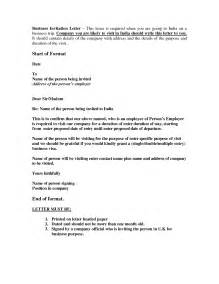 Invitation Letter For Uk Work Visa Invitation Letters For Uk Visa Invitation Librarry