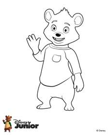 goldie bear coloring pages getcoloringpages