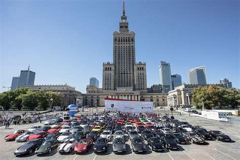 Porsche W Warszawie by Parada Porsche W Warszawie I Tr 243 Jmieście 40 Lat 911 Turbo