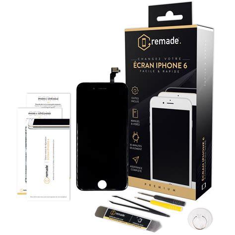 remade kit de r 233 paration 233 cran iphone 6 noir accessoires divers smartphone remade sur ldlc