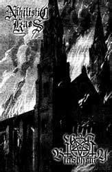 Kaos Huruf N Buy Side nihilistic kaos nihilistic kaos war blasphemy split