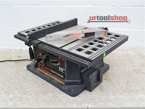 Craftsman 10 Portable Table Saw by Sears Craftsman 10 Quot 113 221740 Portable Table Saw 2643 132 Ebay