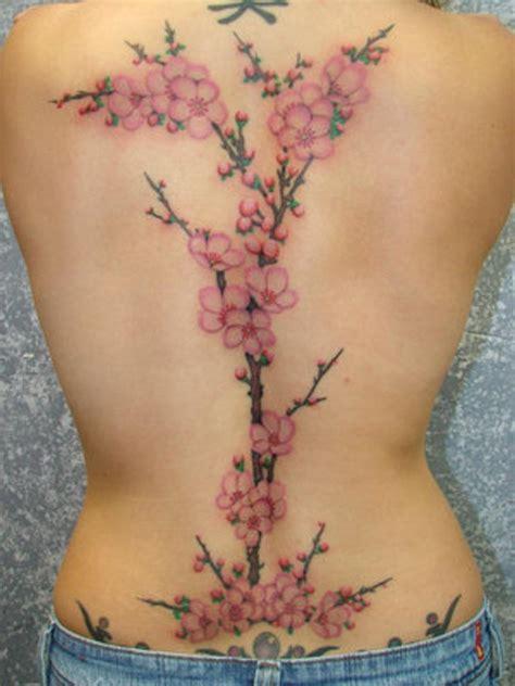 back tattoo flower designs flower images designs