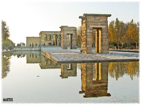 temple of debod madrid spain temple of debod