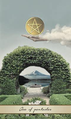 Lotus Tarot Card Meaning Of Ace Of Pentacles Lotus Tarot