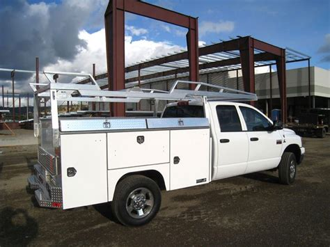 truck utility beds truck bed bodies for service industry and utility trucks
