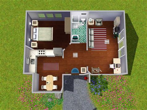 Starter Home Plans Mod The Sims The Contemporarian Starter Home