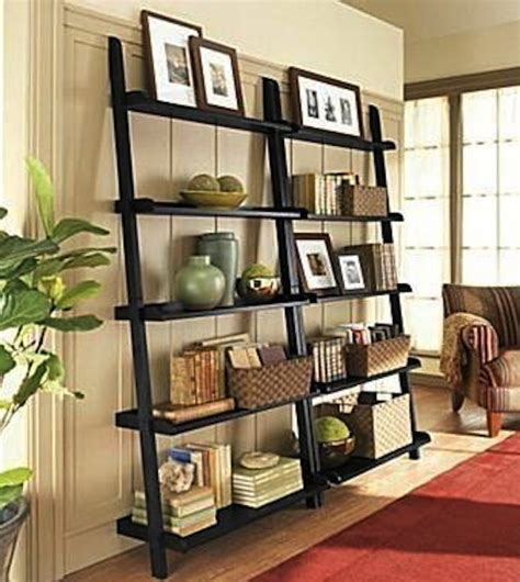 living room bookshelf decorating ideas 30 cute ladder shelf exles
