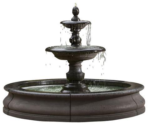 Vanities With Lights Campania Caterina Outdoor Water Fountain In Basin