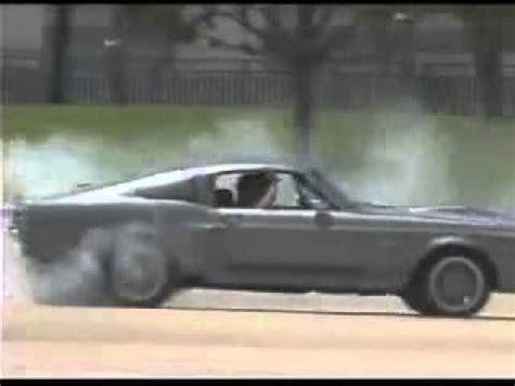 1967 shelby gt500 eleanor burnout , drift youtube