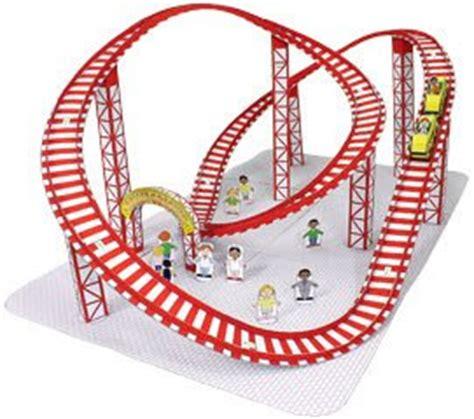 printable paper roller coaster roller coaster papercraft papercraft paradise