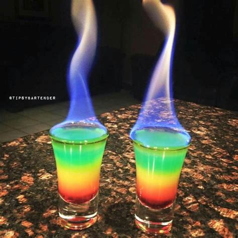 rainbow cocktail drink 25 best ideas about rum on easy rum