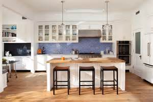 Blue Tile Backsplash Kitchen Spruce Up Your Home With Color Blue Tiles For The
