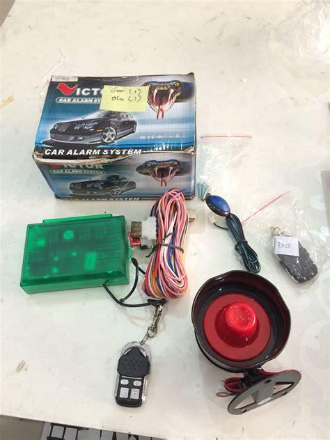 Modul Alarm Mobil Avanza jual alarm mobil victor model slide shock modul sensor