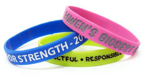 personalised wristbands  trophy room