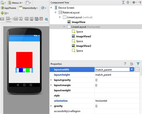 change layout width dynamically android android adapt layout to changing width of imageview