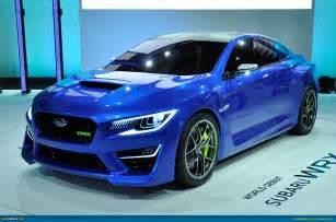At Subaru Ausmotive 187 New York 2013 Subaru Wrx Concept
