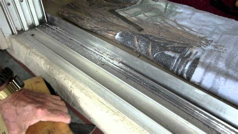 sliding glass door track home repairs 8 ft sliding door track repair