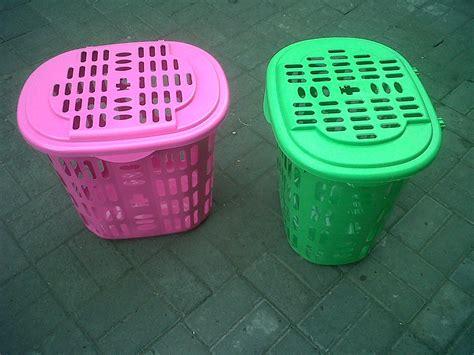 Jual Keranjang Plastik Surabaya jual laundry basket keranjang pakaian plastik harga murah