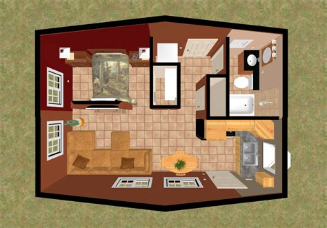small house 3d plans furniture cozy home plans