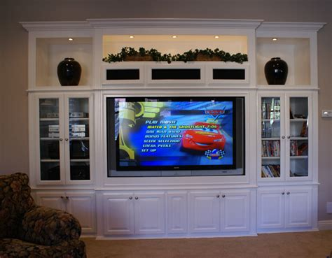 Flat Screen Armoire Built In Entertainment Centers Amp Custom Wall Unit Cabinets