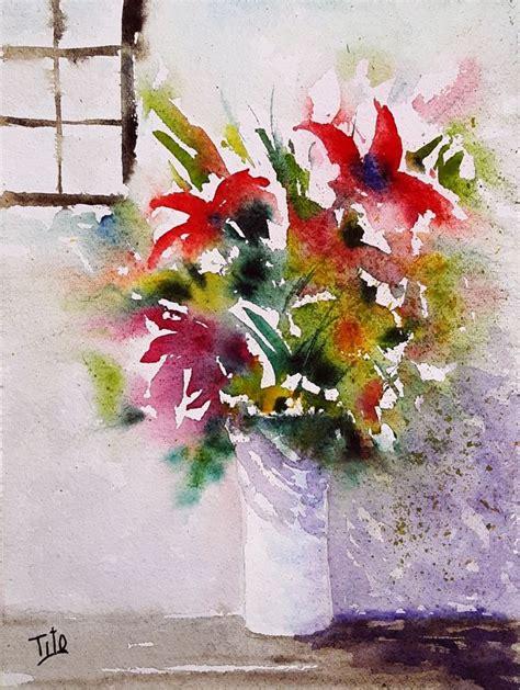 pittura fiori oltre 25 fantastiche idee su pittura ad acquerello su