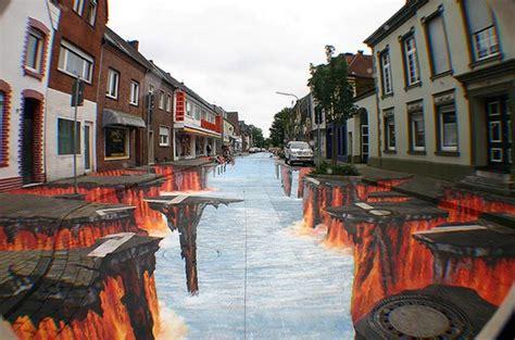 cool creative  street art paintings