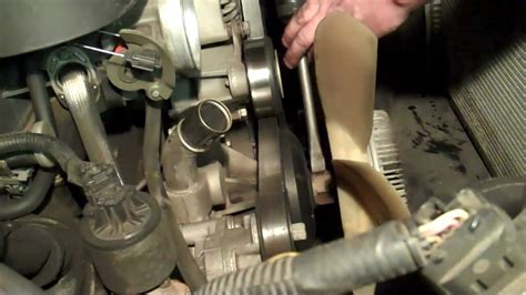 replace fan clutch 2005 trailblazer how do you change a fan clutch on a 2002 chevy trailblazer