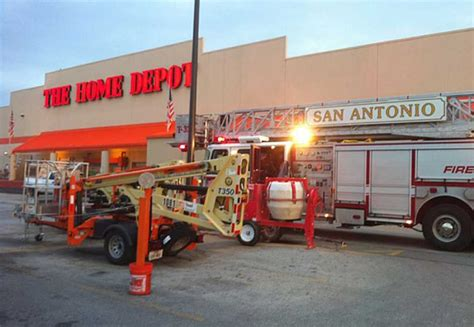 two alarm damages home improvement store san