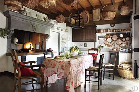 tuscan country kitchen historic manor in tuscany decoholic