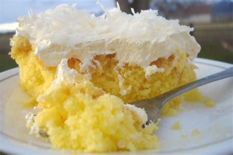 pineapple lemon cake