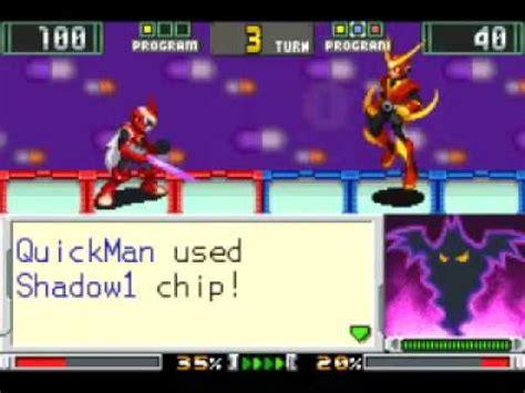 megaman battle chip challenge walkthrough megaman battle chip challenge shadow