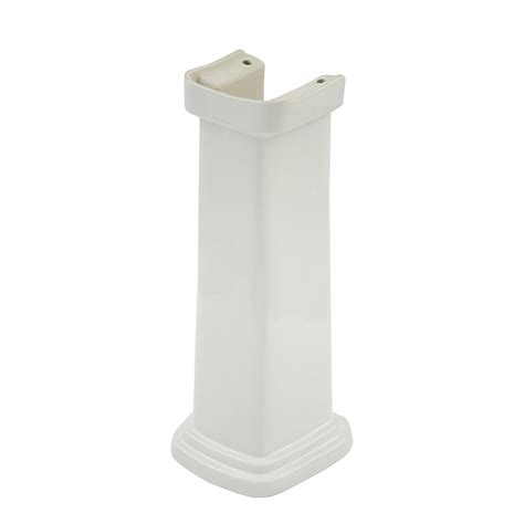 toto promenade pedestal sink toto promenade sink pedestal in cotton white pt530n 01