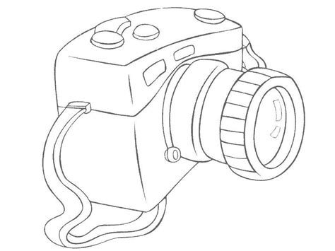 adult coloring pages camera coloring pages