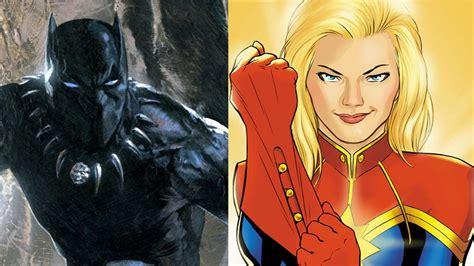 film superheroes marvel marvel announces their first black and female superheroes