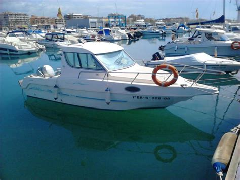 saver 21 cabin fisher saver manta 21 fisher in tarragona barche da pesca day