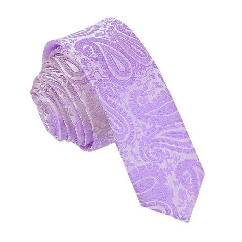 s paisley lilac tie