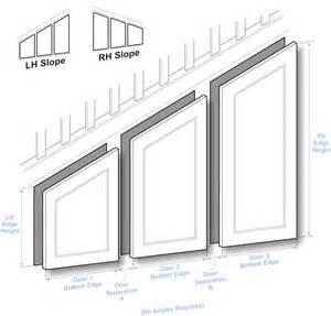 Made To Measure Kitchen Cabinet Doors doors to size angled door guide